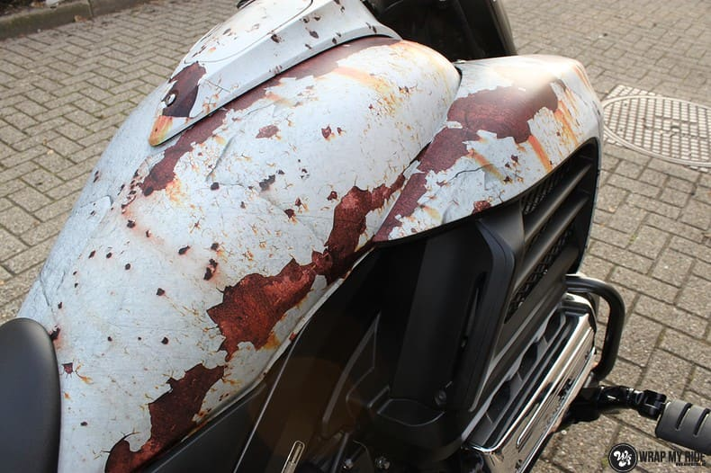 Honda F6C full colour roest wrap, Carwrapping door Wrapmyride.nu Foto-nr:10400, ©2021