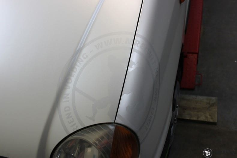 Hyundai Atos MR EIWIT, Carwrapping door Wrapmyride.nu Foto-nr:8726, ©2018