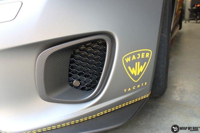 Jaguar F-type eagle run, Carwrapping door Wrapmyride.nu Foto-nr:10929, ©2021