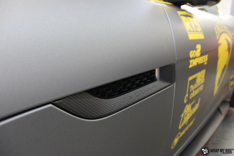 Jaguar F-type eagle run, Carwrapping door Wrapmyride.nu Foto-nr:10927, ©2021