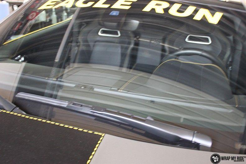 Jaguar F-type eagle run, Carwrapping door Wrapmyride.nu Foto-nr:10917, ©2021