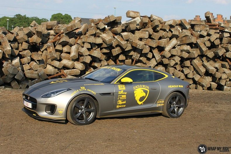 Jaguar F-type eagle run, Carwrapping door Wrapmyride.nu Foto-nr:10906, ©2021