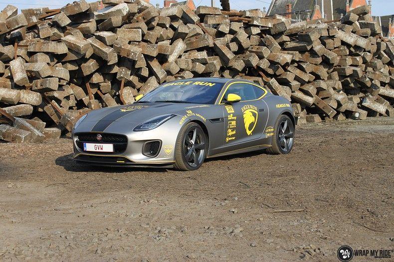 Jaguar F-type eagle run, Carwrapping door Wrapmyride.nu Foto-nr:10905, ©2021
