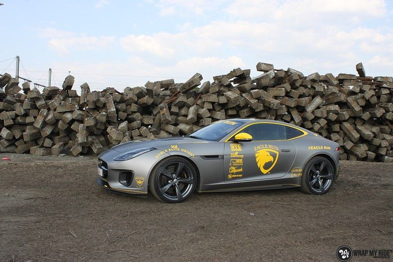 Jaguar F-type eagle run, Carwrapping door Wrapmyride.nu Foto-nr:10895, ©2021