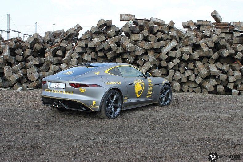 Jaguar F-type eagle run, Carwrapping door Wrapmyride.nu Foto-nr:10890, ©2021