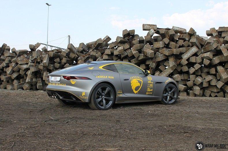 Jaguar F-type eagle run, Carwrapping door Wrapmyride.nu Foto-nr:10888, ©2021