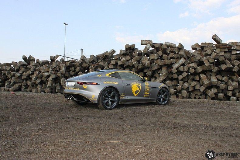 Jaguar F-type eagle run, Carwrapping door Wrapmyride.nu Foto-nr:10889, ©2021