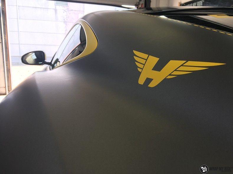 Jaguar F-type eagle run, Carwrapping door Wrapmyride.nu Foto-nr:10952, ©2021