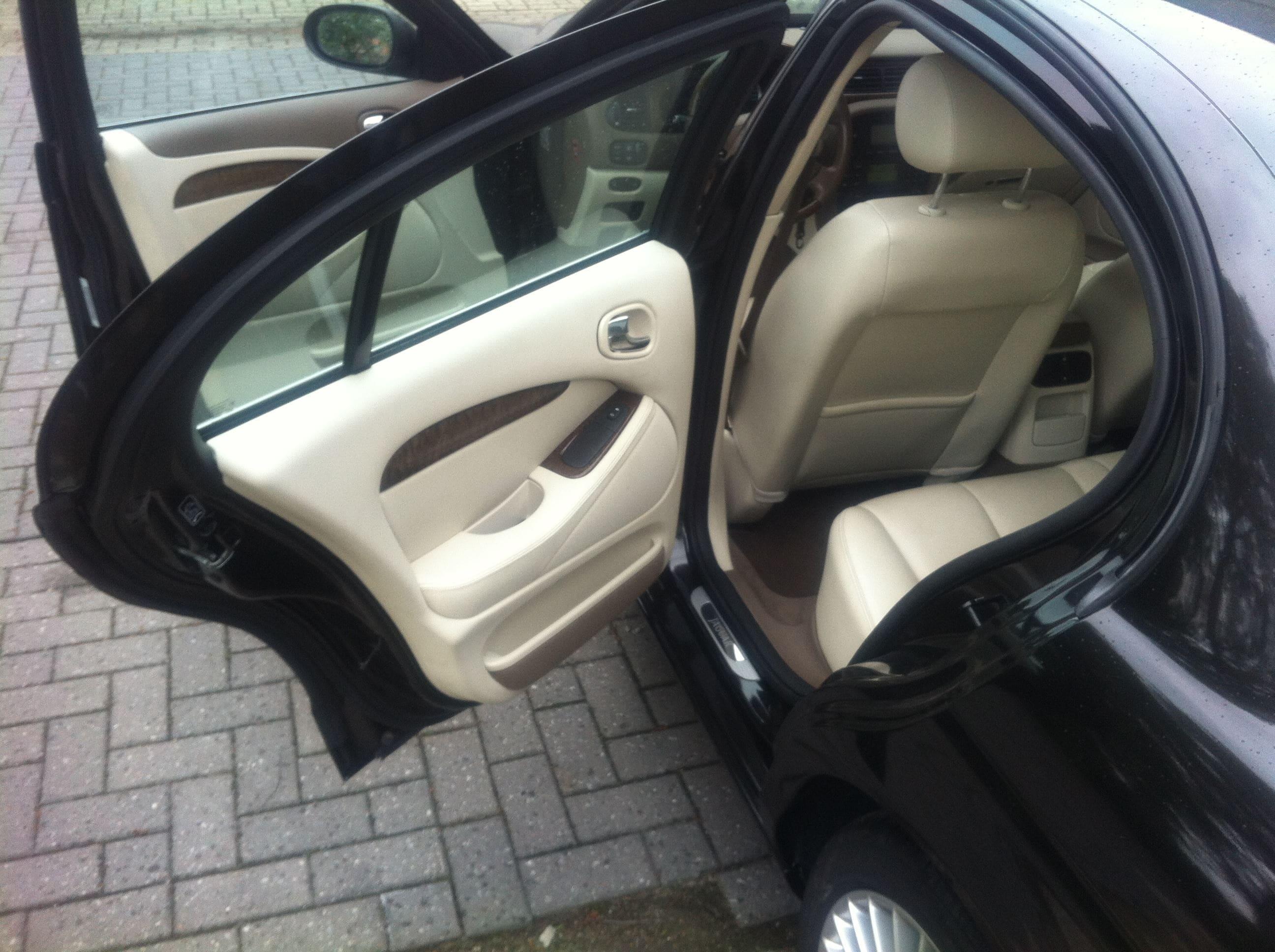 Jaguar S-type met Zwarte Metallic Wrap, Carwrapping door Wrapmyride.nu Foto-nr:5908, ©2020