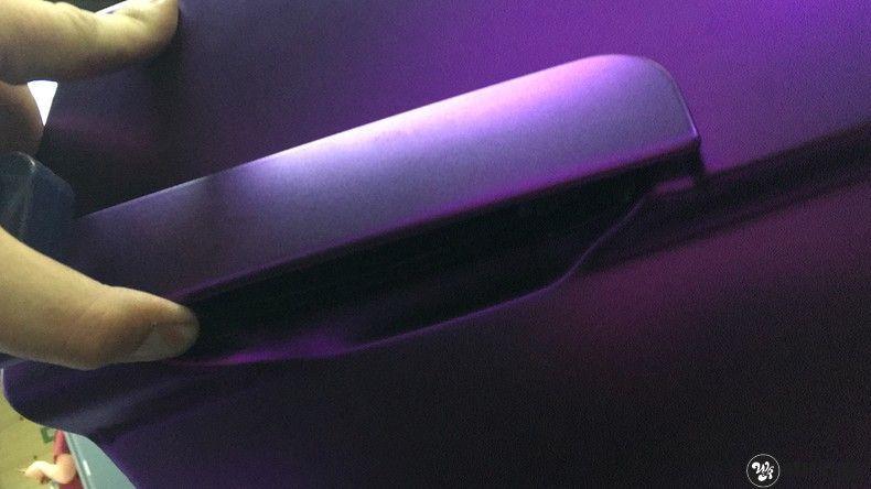 Lamborghini Gallardo Spider matte purple chrome, Carwrapping door Wrapmyride.nu Foto-nr:11295, ©2018