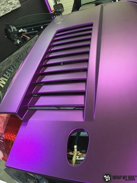 Lamborghini Gallardo Spider matte purple chrome, Carwrapping door Wrapmyride.nu Foto-nr:11261, ©2018