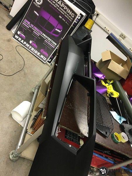 Lamborghini Gallardo Spider matte purple chrome, Carwrapping door Wrapmyride.nu Foto-nr:11268, ©2018