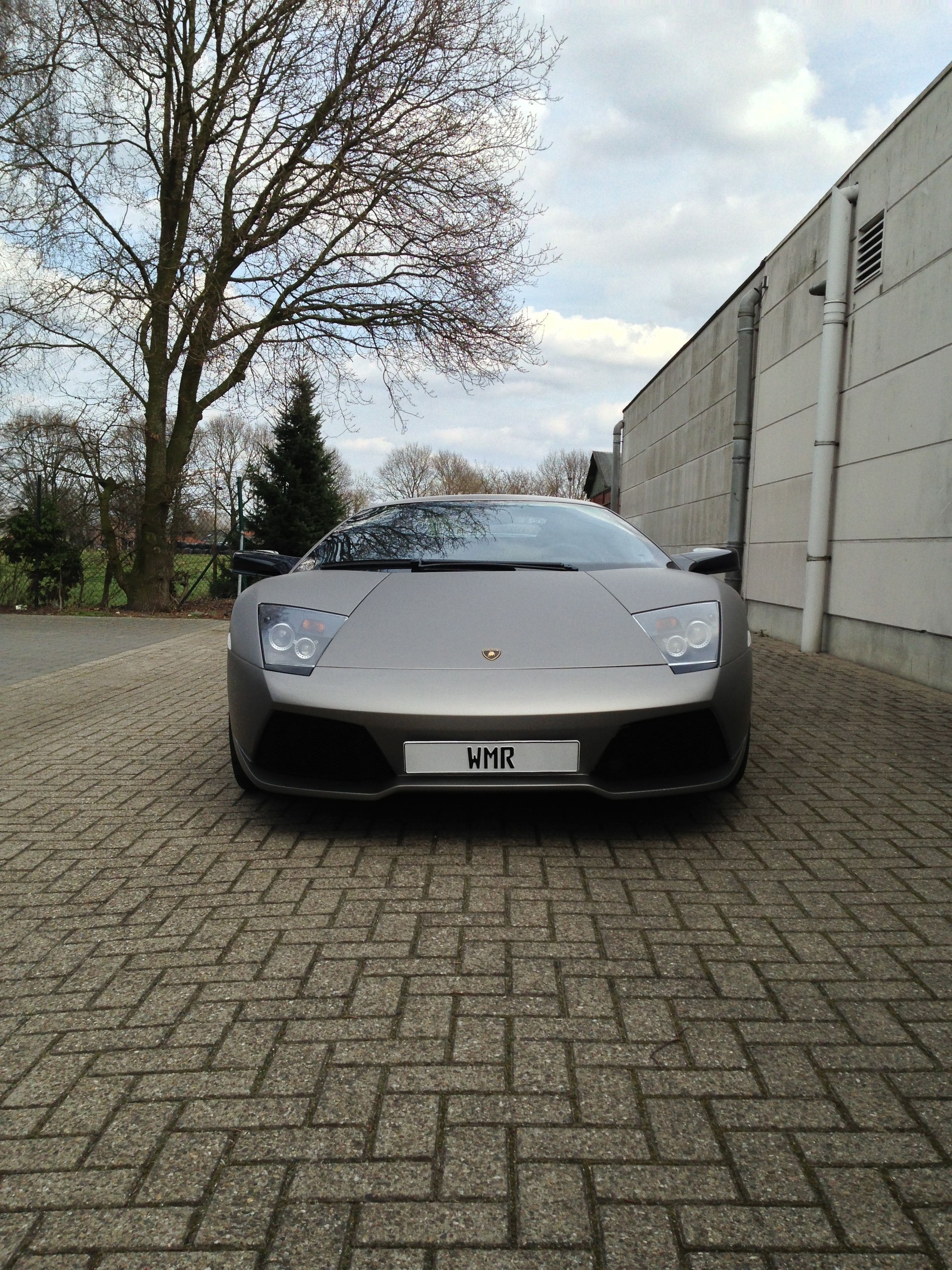 Lamborghini Murcialago LP670 met Gunpowder Wrap, Carwrapping door Wrapmyride.nu Foto-nr:5970, ©2021
