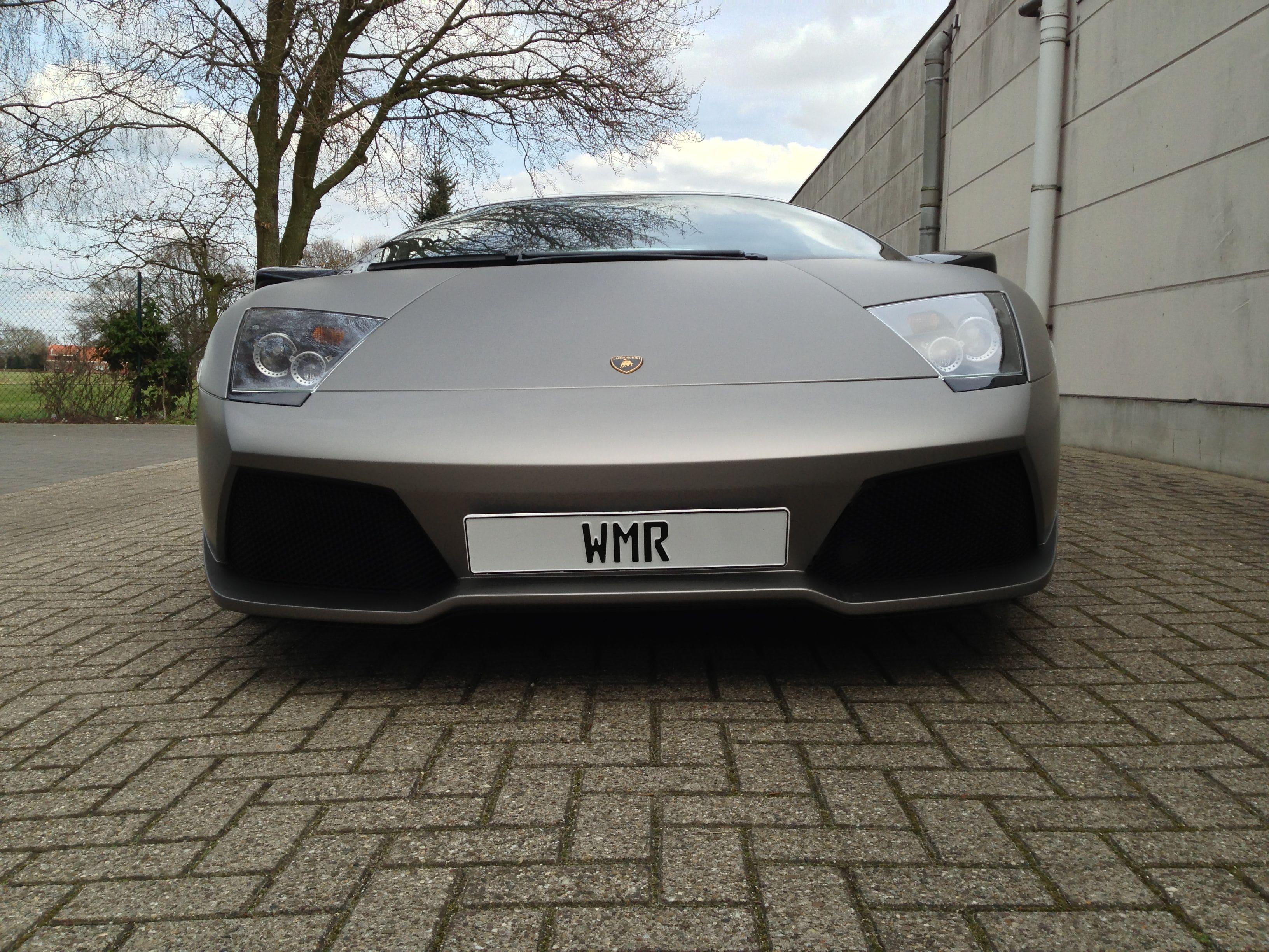 Lamborghini Murcialago LP670 met Gunpowder Wrap, Carwrapping door Wrapmyride.nu Foto-nr:5972, ©2021