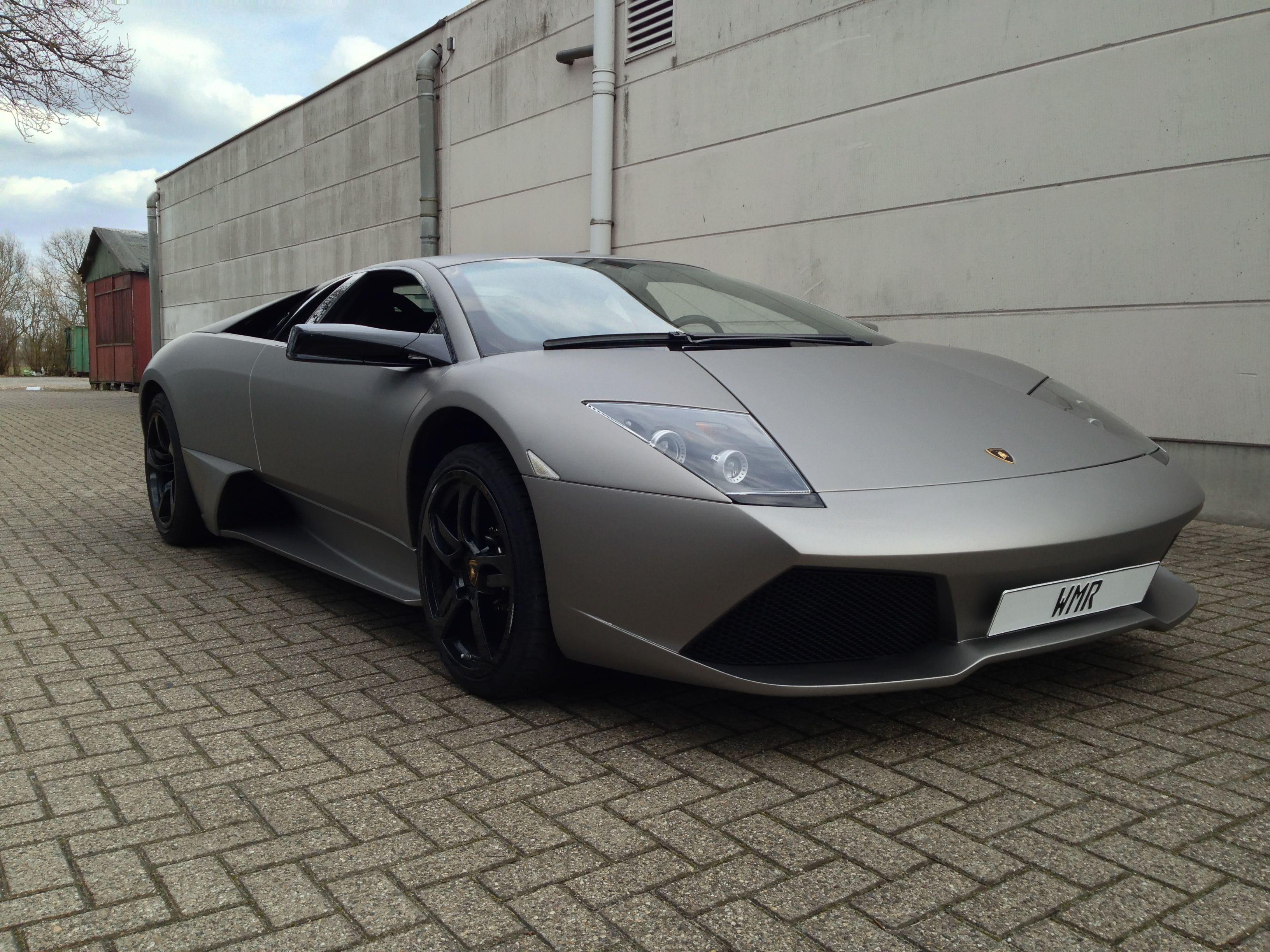 Lamborghini Murcialago LP670 met Gunpowder Wrap, Carwrapping door Wrapmyride.nu Foto-nr:5973, ©2021