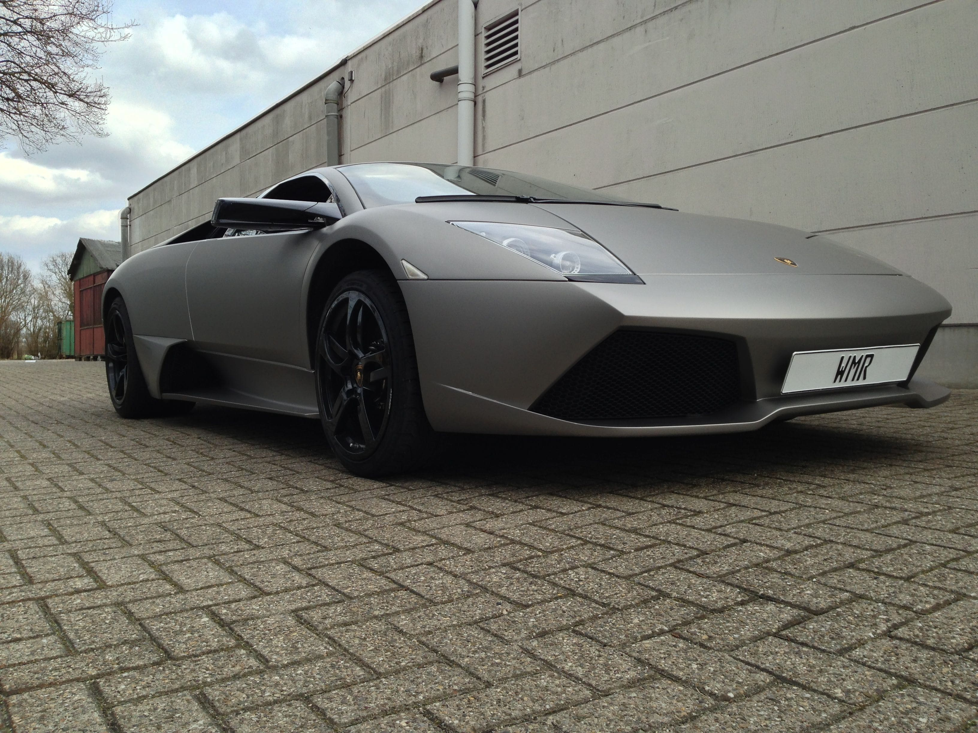 Lamborghini Murcialago LP670 met Gunpowder Wrap, Carwrapping door Wrapmyride.nu Foto-nr:5974, ©2021