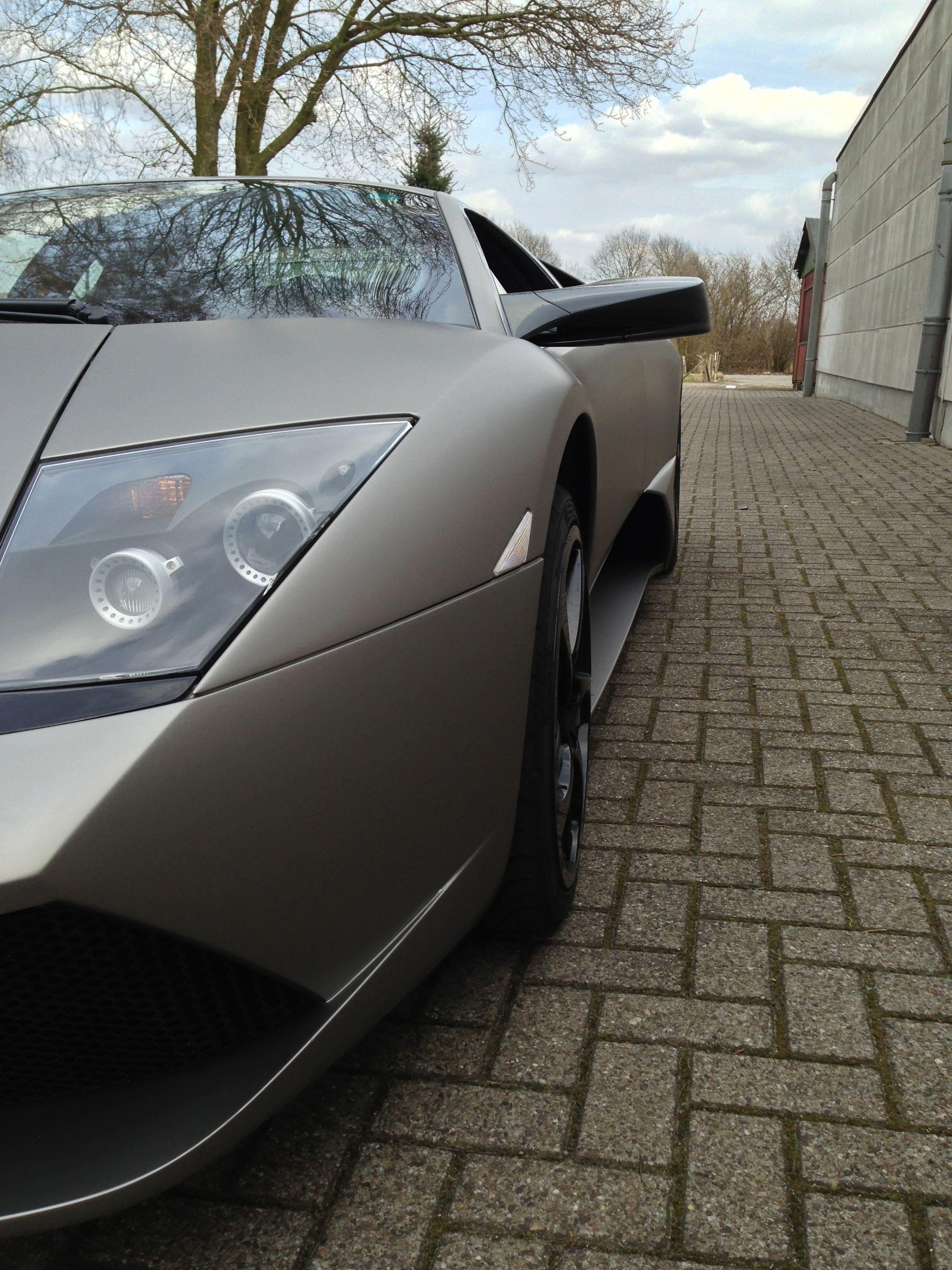 Lamborghini Murcialago LP670 met Gunpowder Wrap, Carwrapping door Wrapmyride.nu Foto-nr:5975, ©2021
