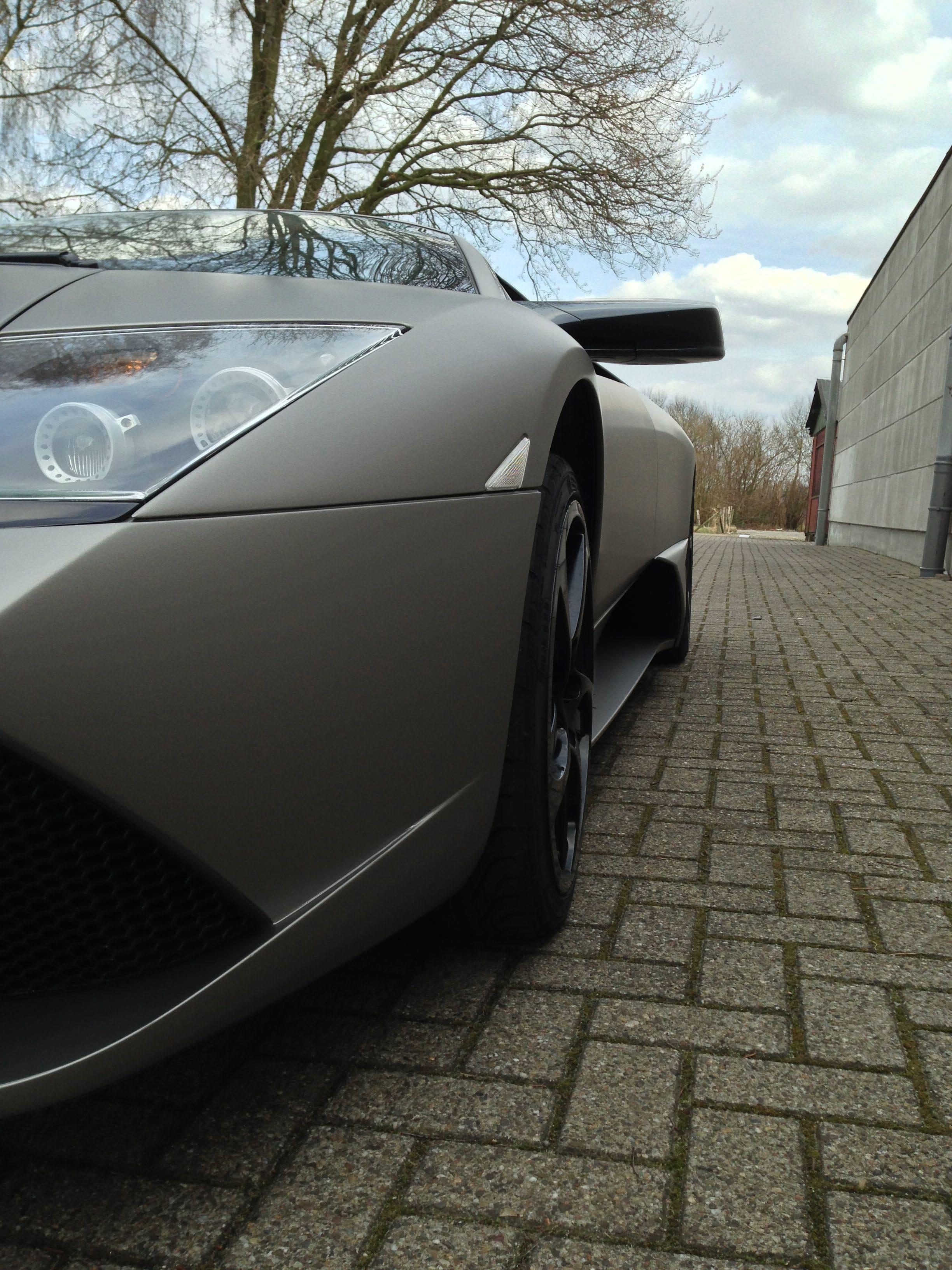 Lamborghini Murcialago LP670 met Gunpowder Wrap, Carwrapping door Wrapmyride.nu Foto-nr:5976, ©2021