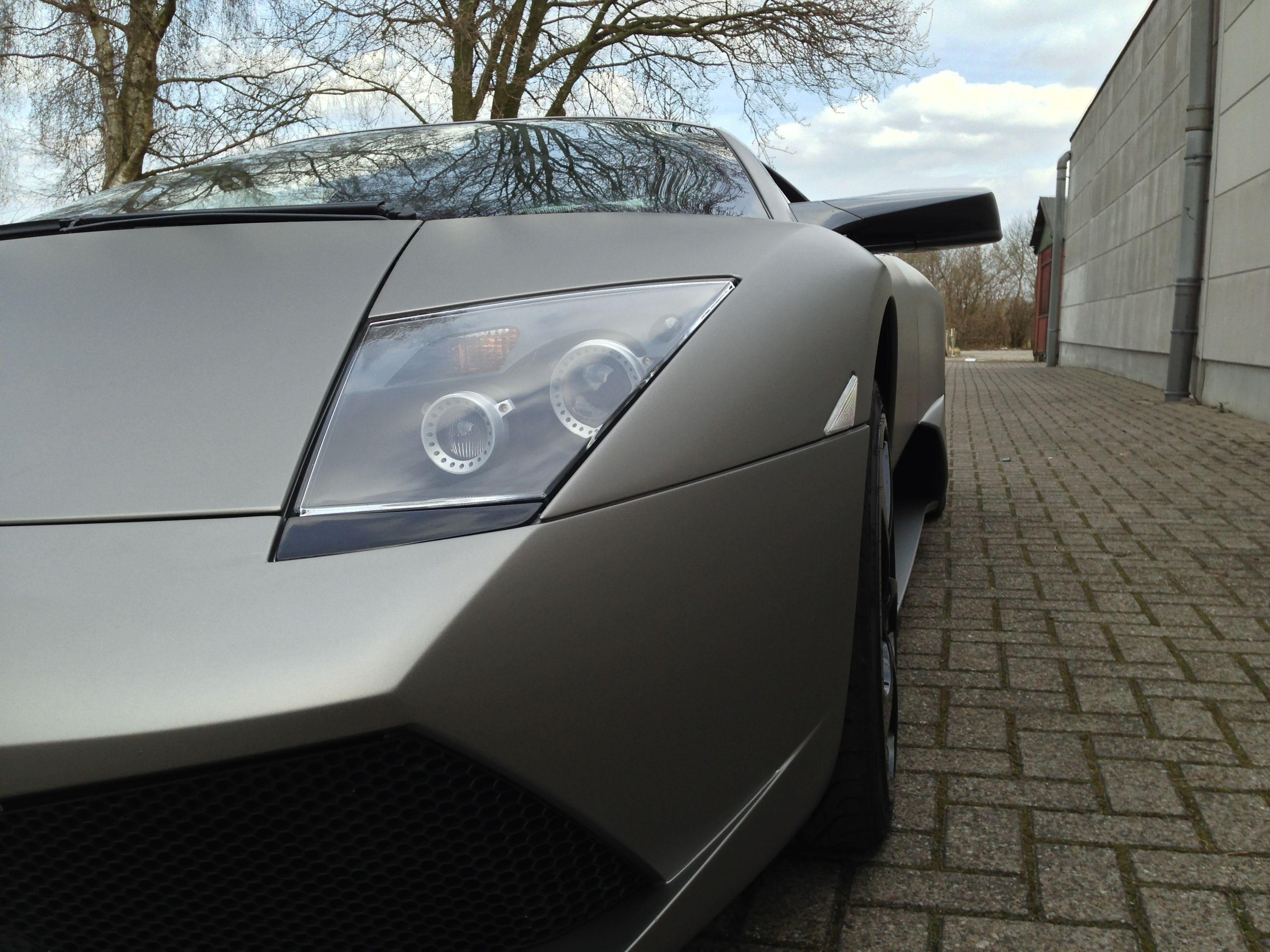 Lamborghini Murcialago LP670 met Gunpowder Wrap, Carwrapping door Wrapmyride.nu Foto-nr:5977, ©2021
