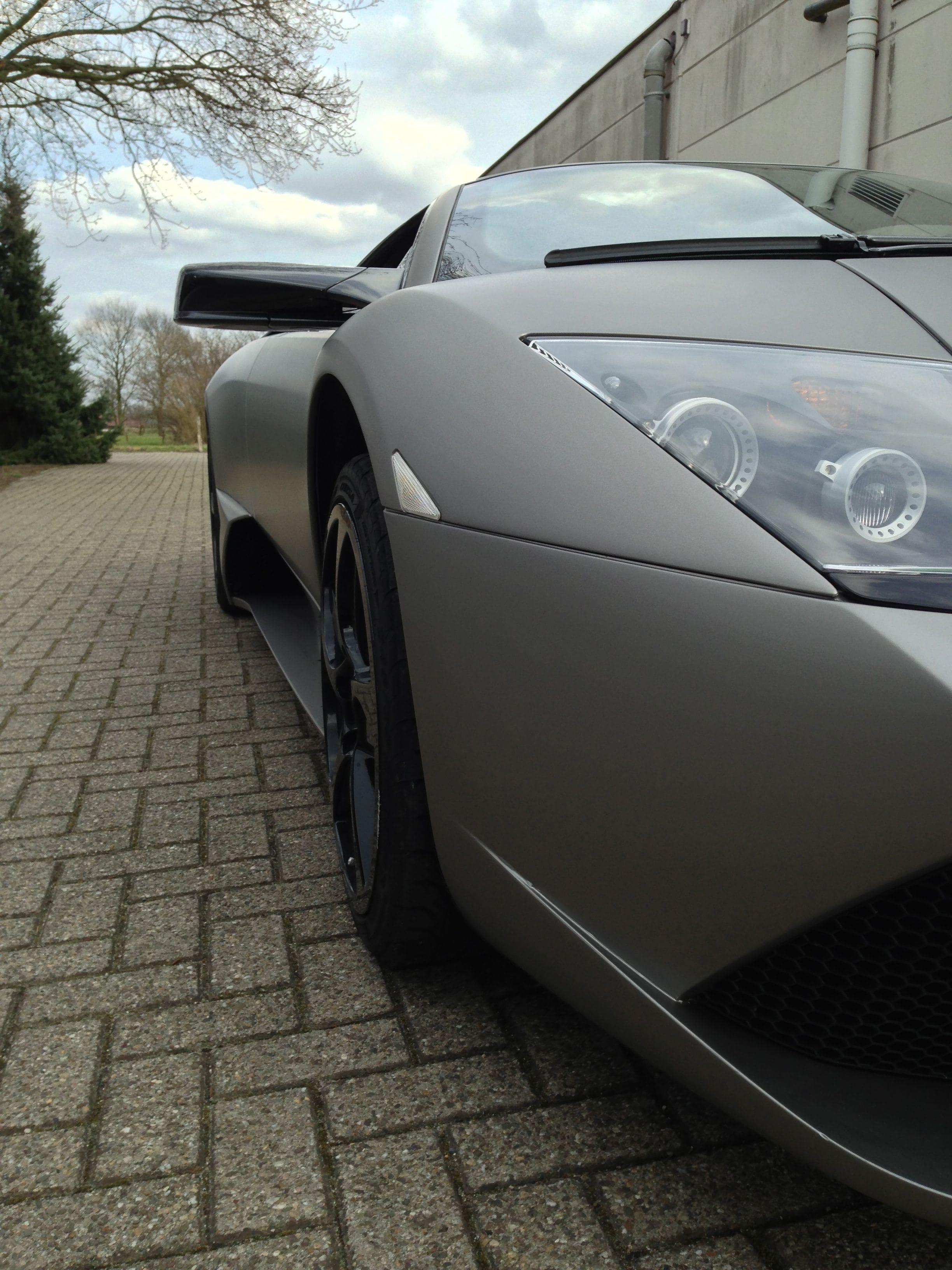 Lamborghini Murcialago LP670 met Gunpowder Wrap, Carwrapping door Wrapmyride.nu Foto-nr:5978, ©2021