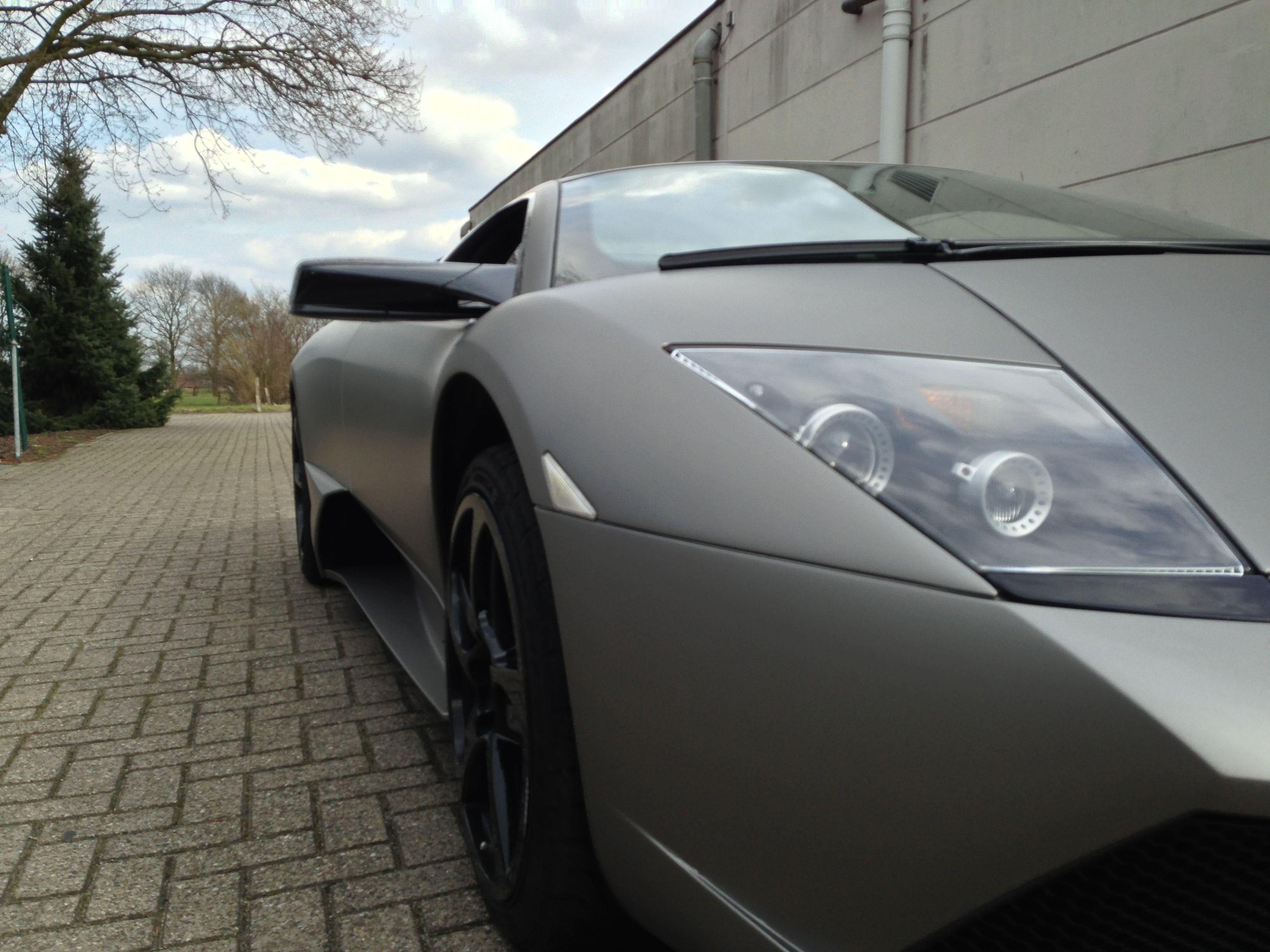 Lamborghini Murcialago LP670 met Gunpowder Wrap, Carwrapping door Wrapmyride.nu Foto-nr:5979, ©2021