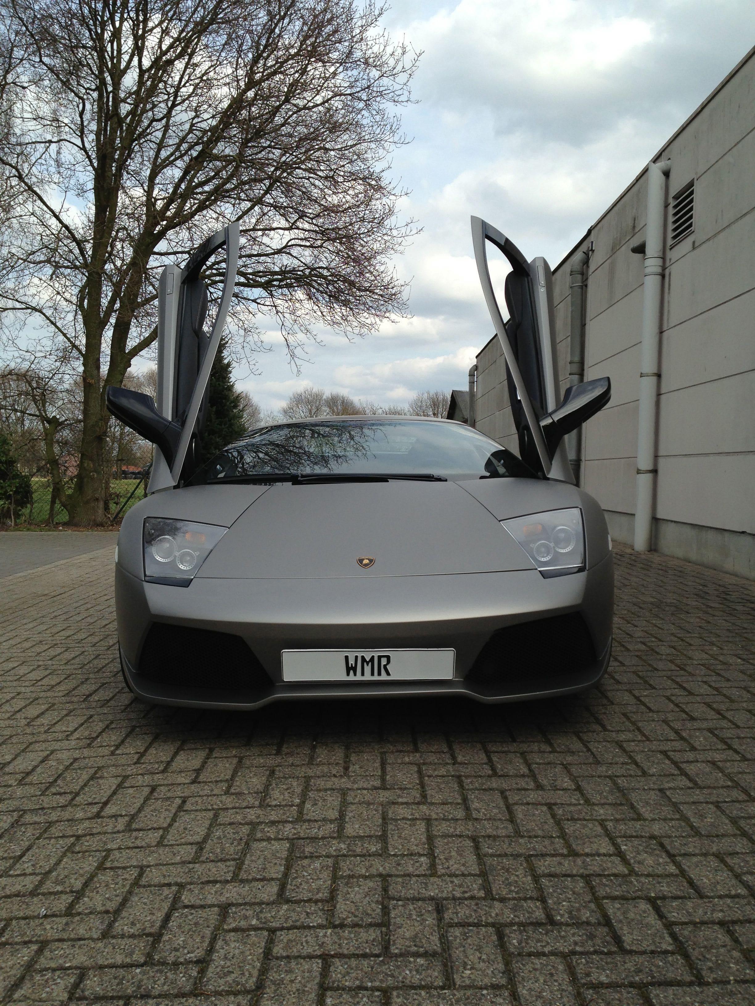 Lamborghini Murcialago LP670 met Gunpowder Wrap, Carwrapping door Wrapmyride.nu Foto-nr:5980, ©2021