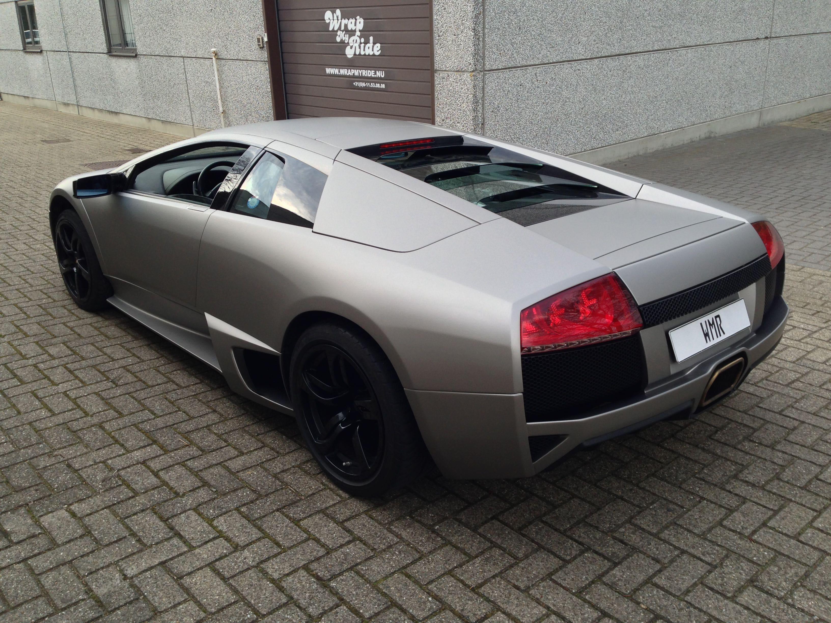 Lamborghini Murcialago LP670 met Gunpowder Wrap, Carwrapping door Wrapmyride.nu Foto-nr:5982, ©2021