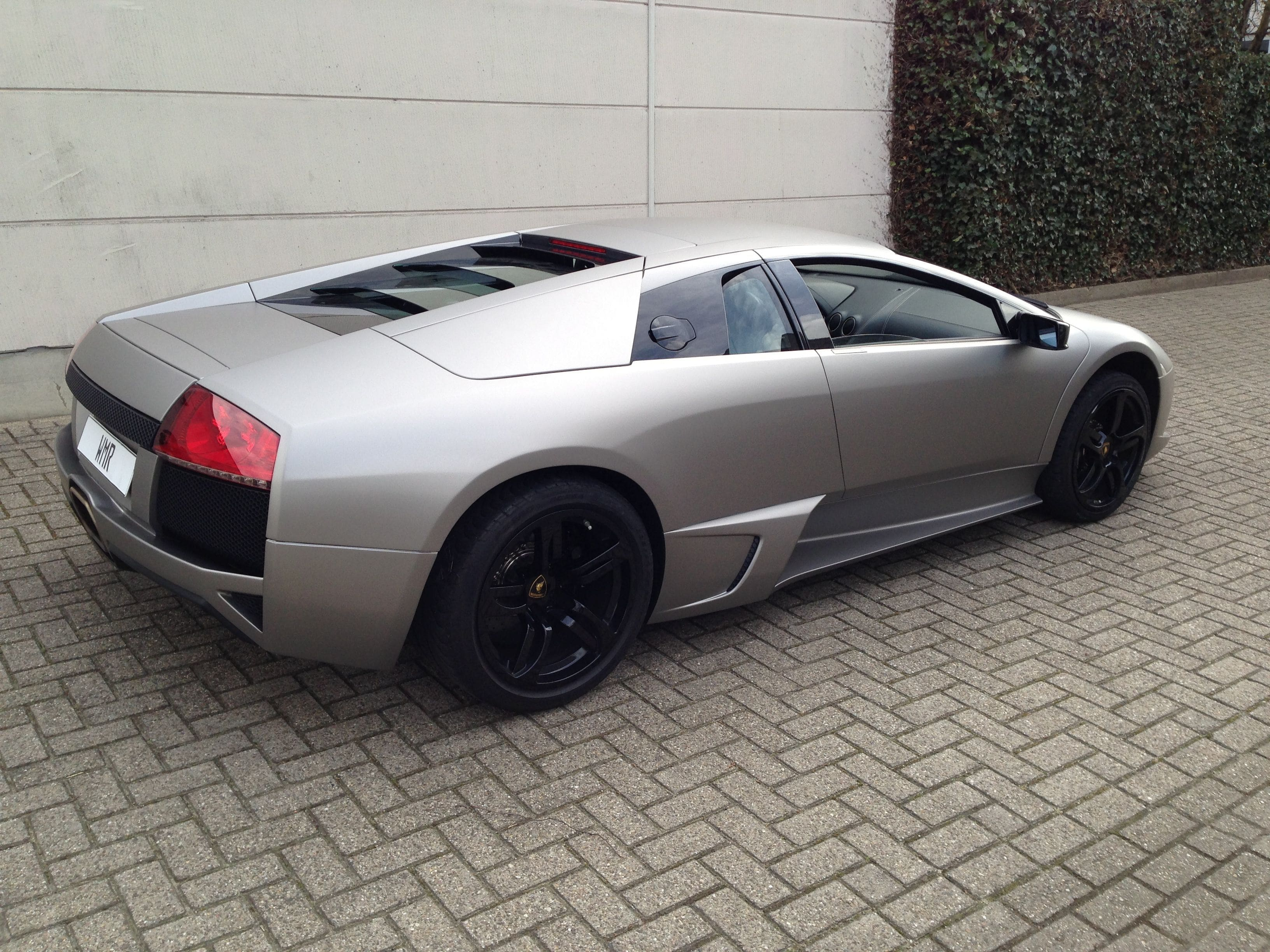 Lamborghini Murcialago LP670 met Gunpowder Wrap, Carwrapping door Wrapmyride.nu Foto-nr:5984, ©2021