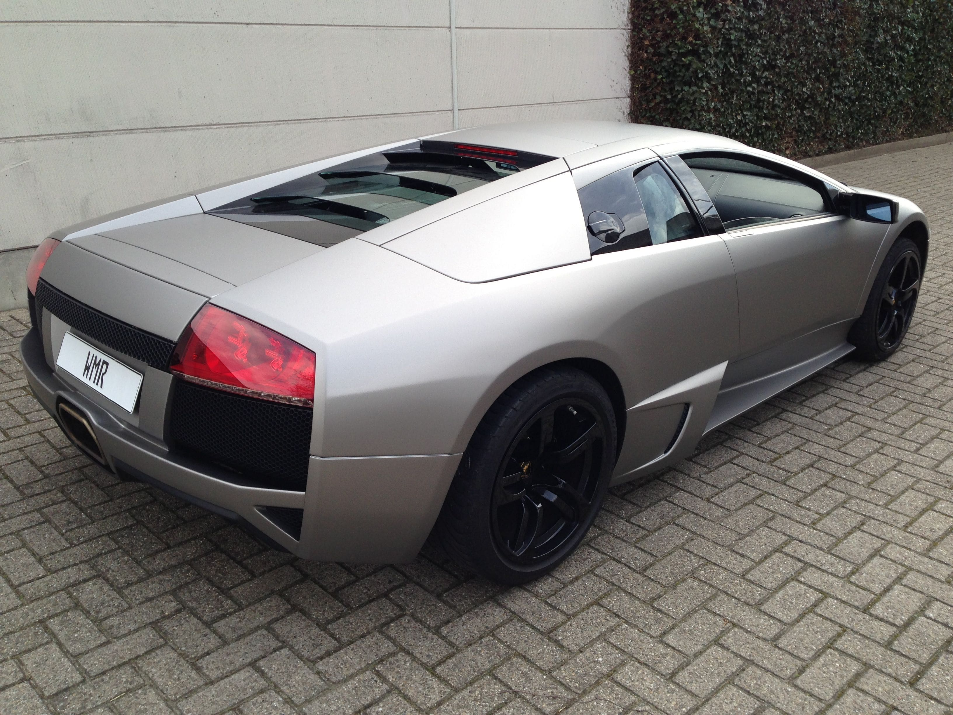 Lamborghini Murcialago LP670 met Gunpowder Wrap, Carwrapping door Wrapmyride.nu Foto-nr:5985, ©2021
