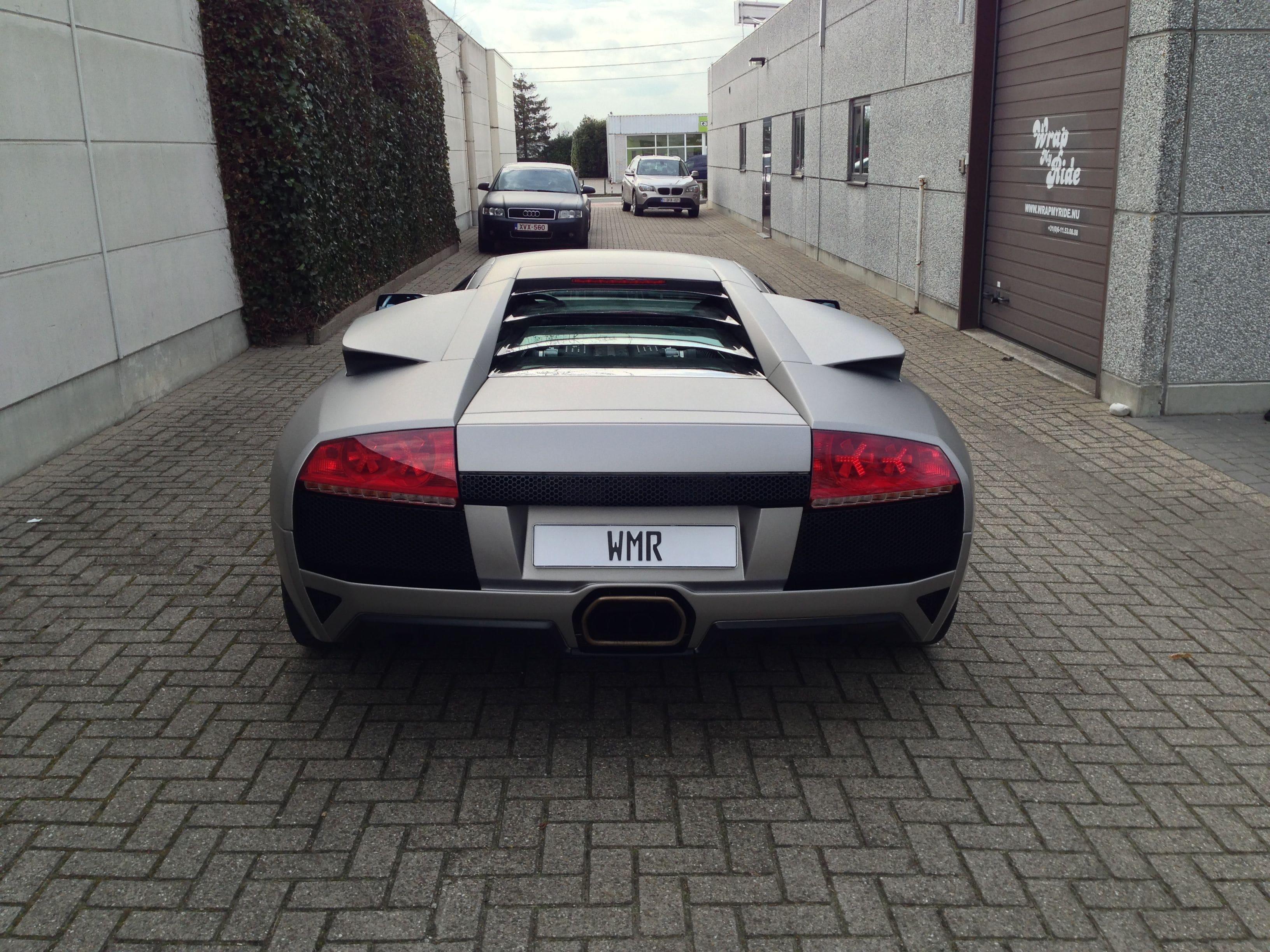 Lamborghini Murcialago LP670 met Gunpowder Wrap, Carwrapping door Wrapmyride.nu Foto-nr:5987, ©2021