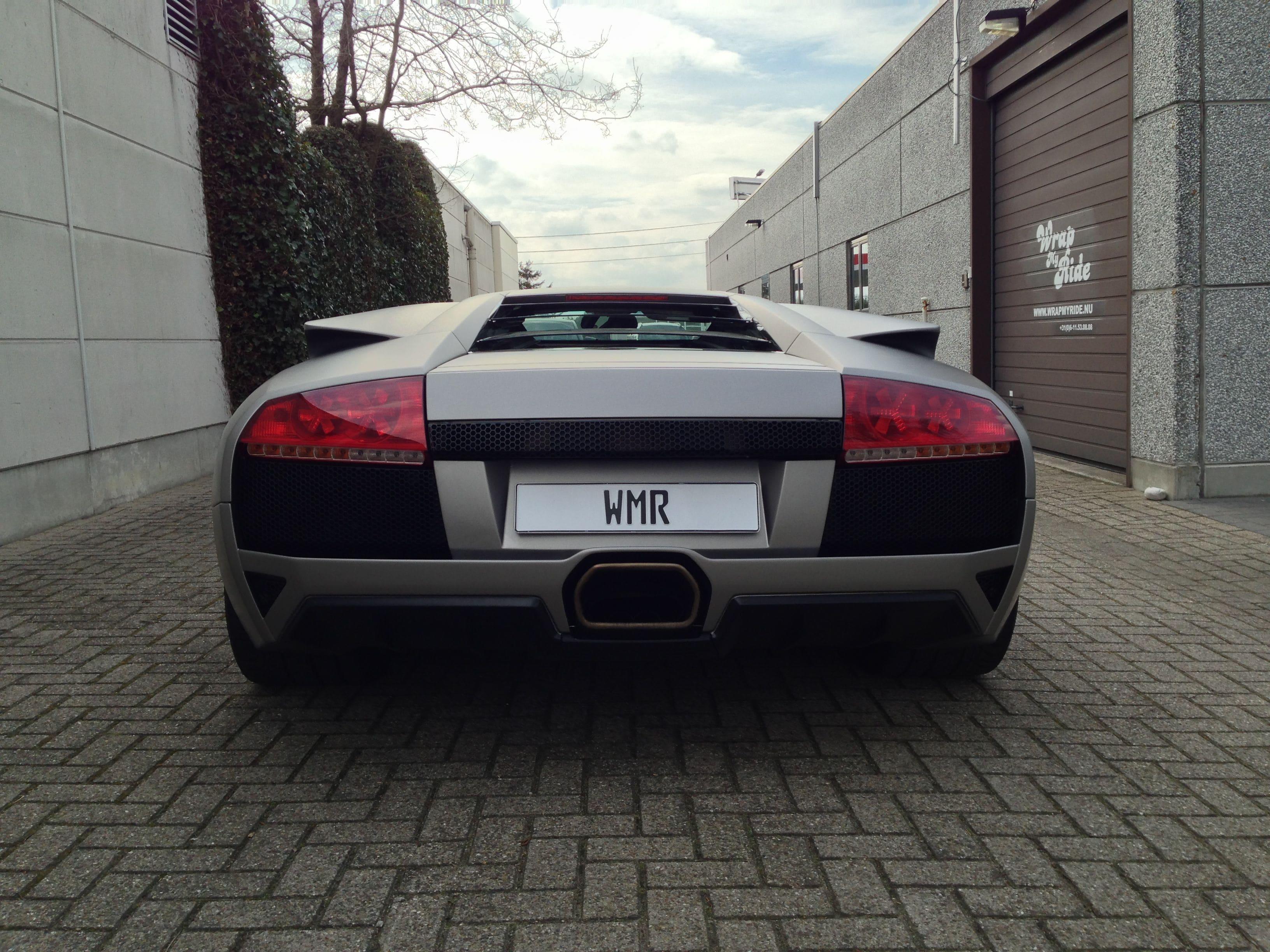 Lamborghini Murcialago LP670 met Gunpowder Wrap, Carwrapping door Wrapmyride.nu Foto-nr:5989, ©2021