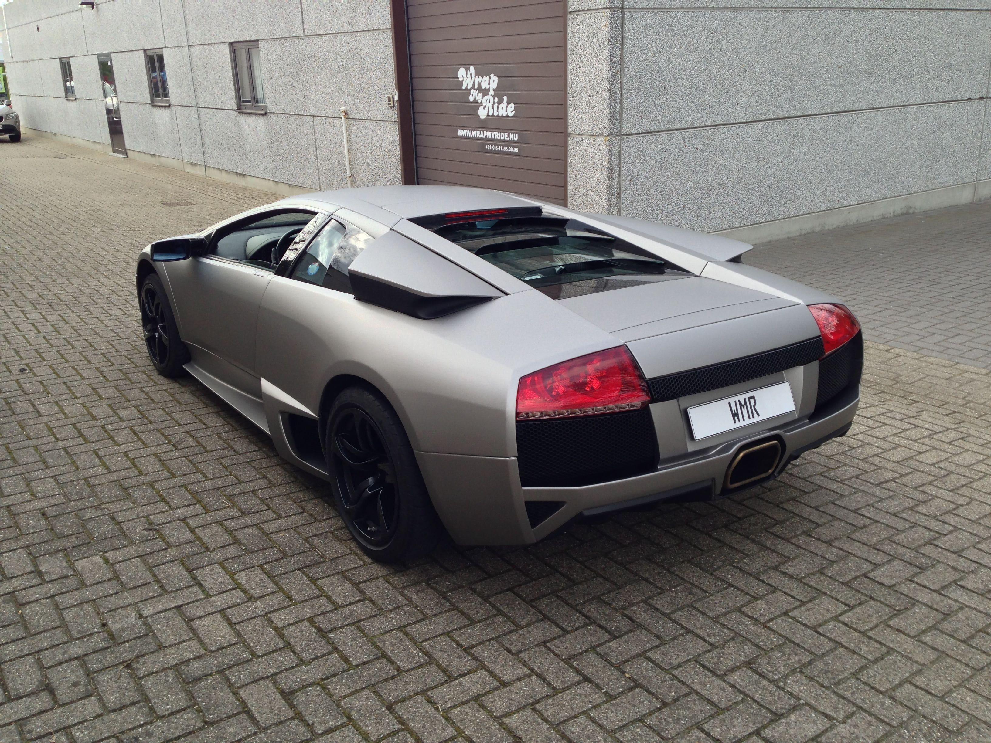 Lamborghini Murcialago LP670 met Gunpowder Wrap, Carwrapping door Wrapmyride.nu Foto-nr:5990, ©2021