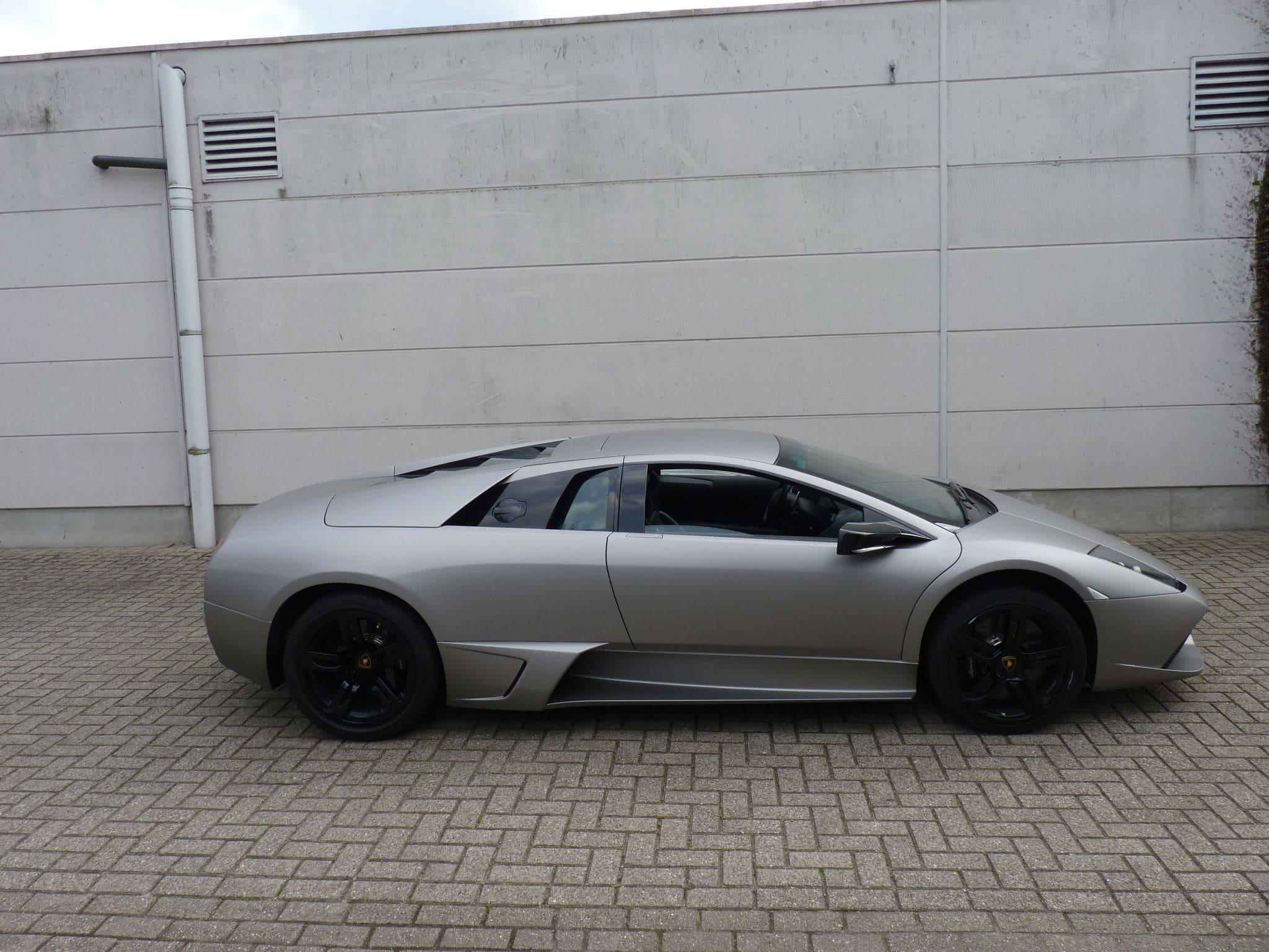 Lamborghini Murcialago LP670 met Gunpowder Wrap, Carwrapping door Wrapmyride.nu Foto-nr:5994, ©2021