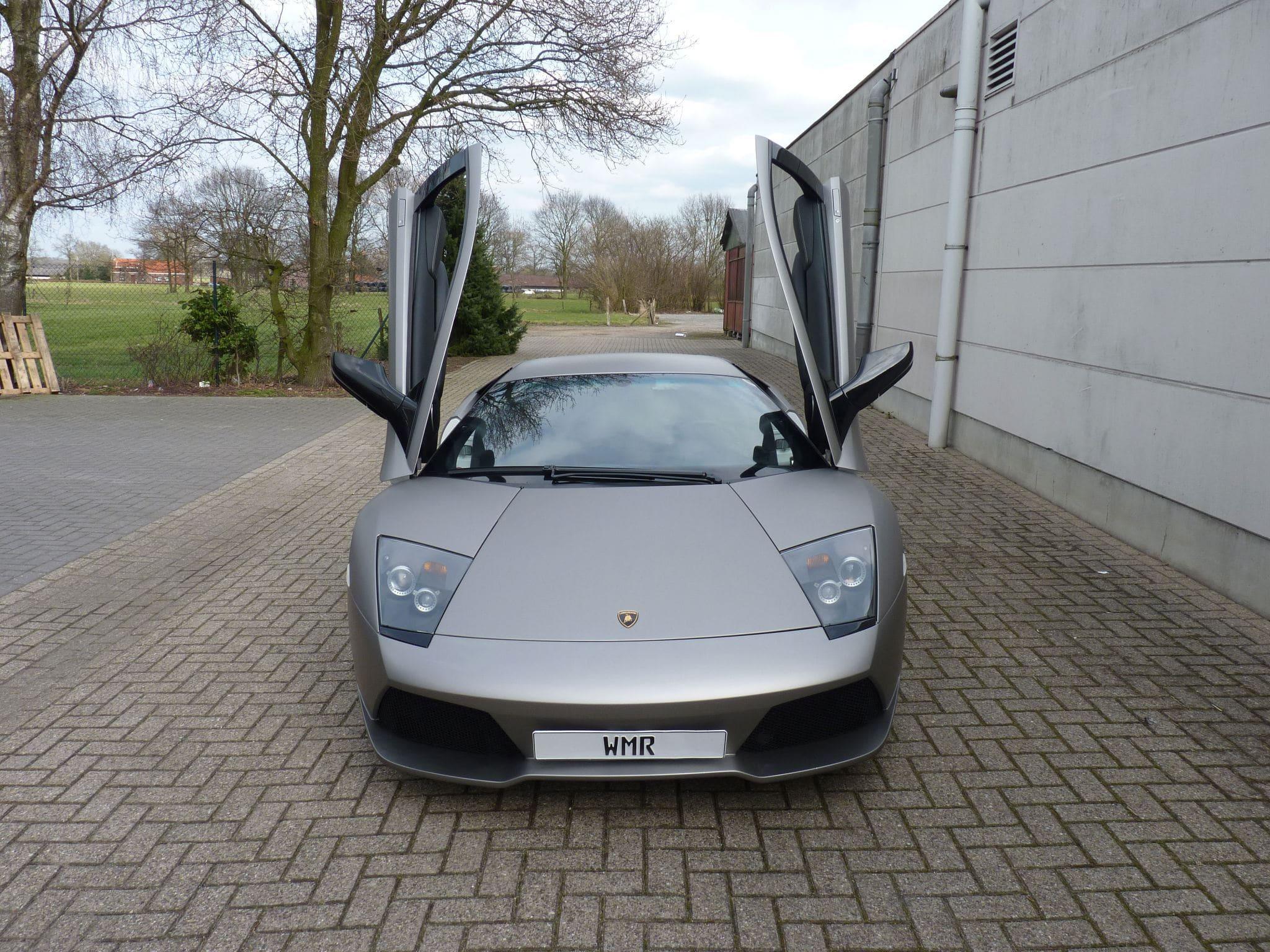 Lamborghini Murcialago LP670 met Gunpowder Wrap, Carwrapping door Wrapmyride.nu Foto-nr:5995, ©2021