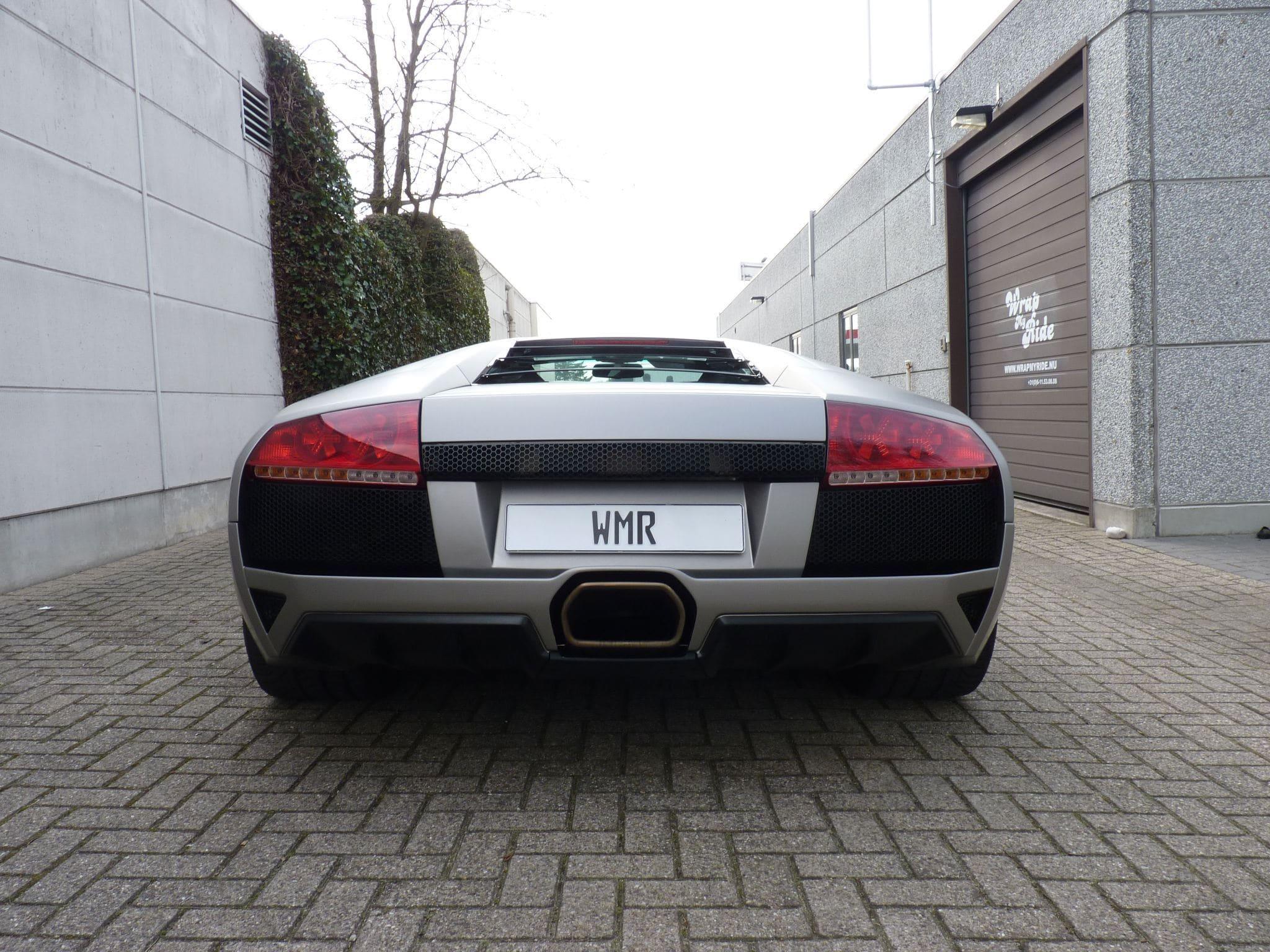 Lamborghini Murcialago LP670 met Gunpowder Wrap, Carwrapping door Wrapmyride.nu Foto-nr:5998, ©2021