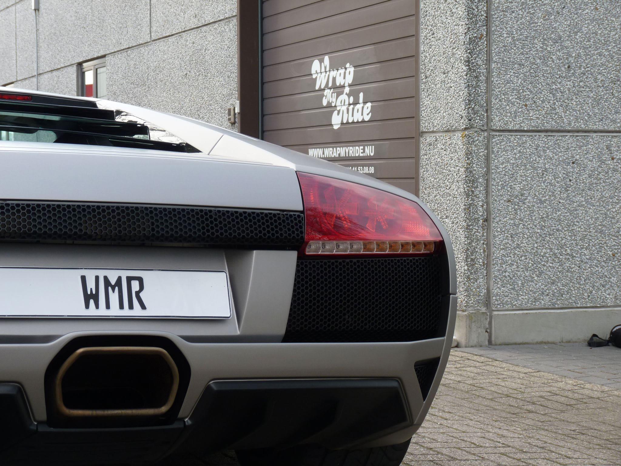 Lamborghini Murcialago LP670 met Gunpowder Wrap, Carwrapping door Wrapmyride.nu Foto-nr:6000, ©2021