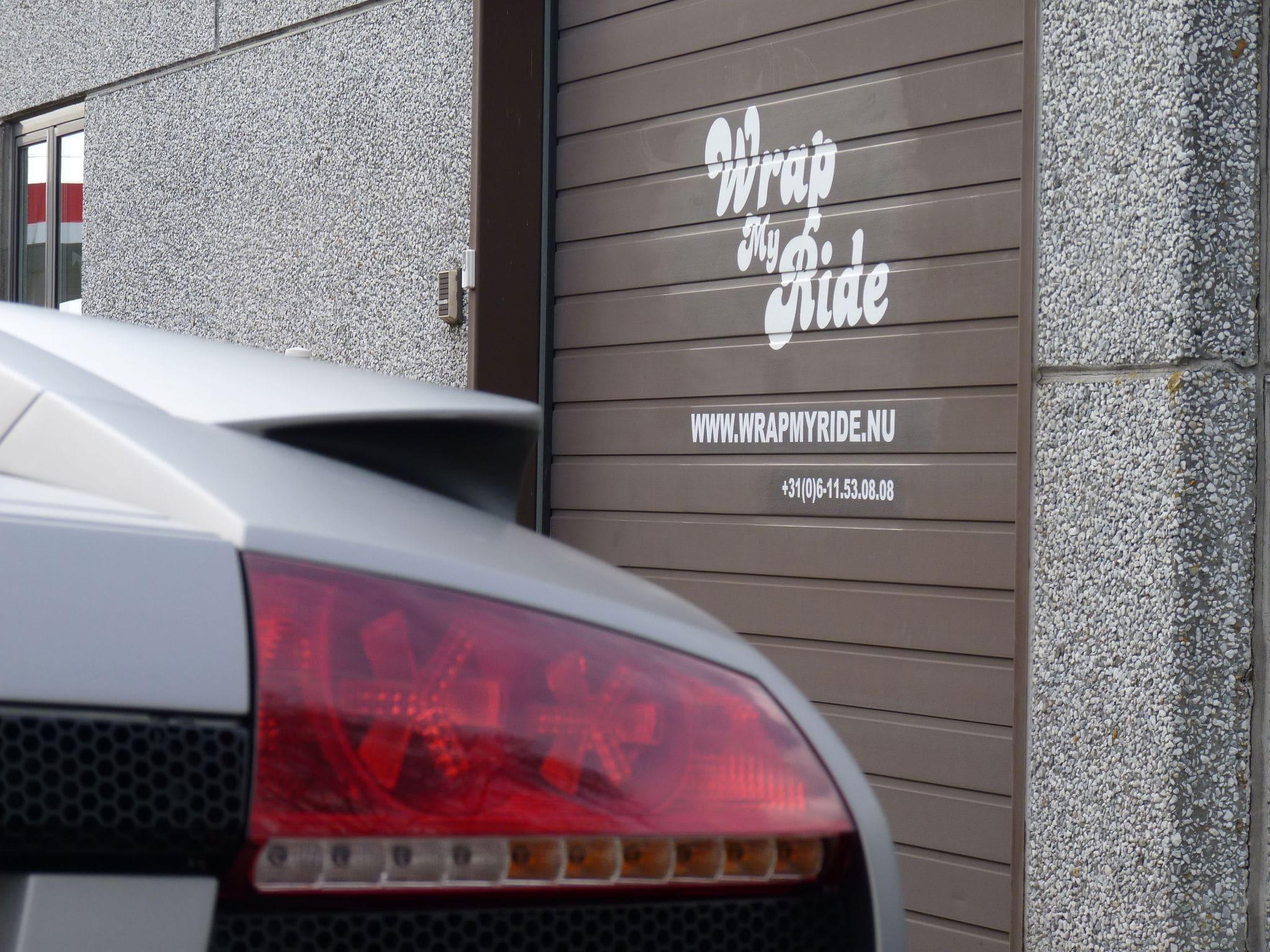 Lamborghini Murcialago LP670 met Gunpowder Wrap, Carwrapping door Wrapmyride.nu Foto-nr:6004, ©2021