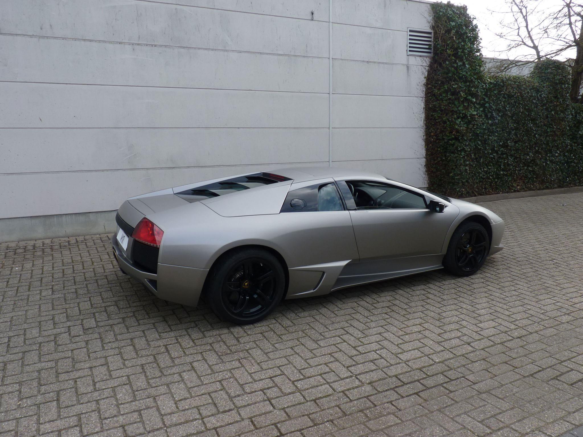 Lamborghini Murcialago LP670 met Gunpowder Wrap, Carwrapping door Wrapmyride.nu Foto-nr:6005, ©2021