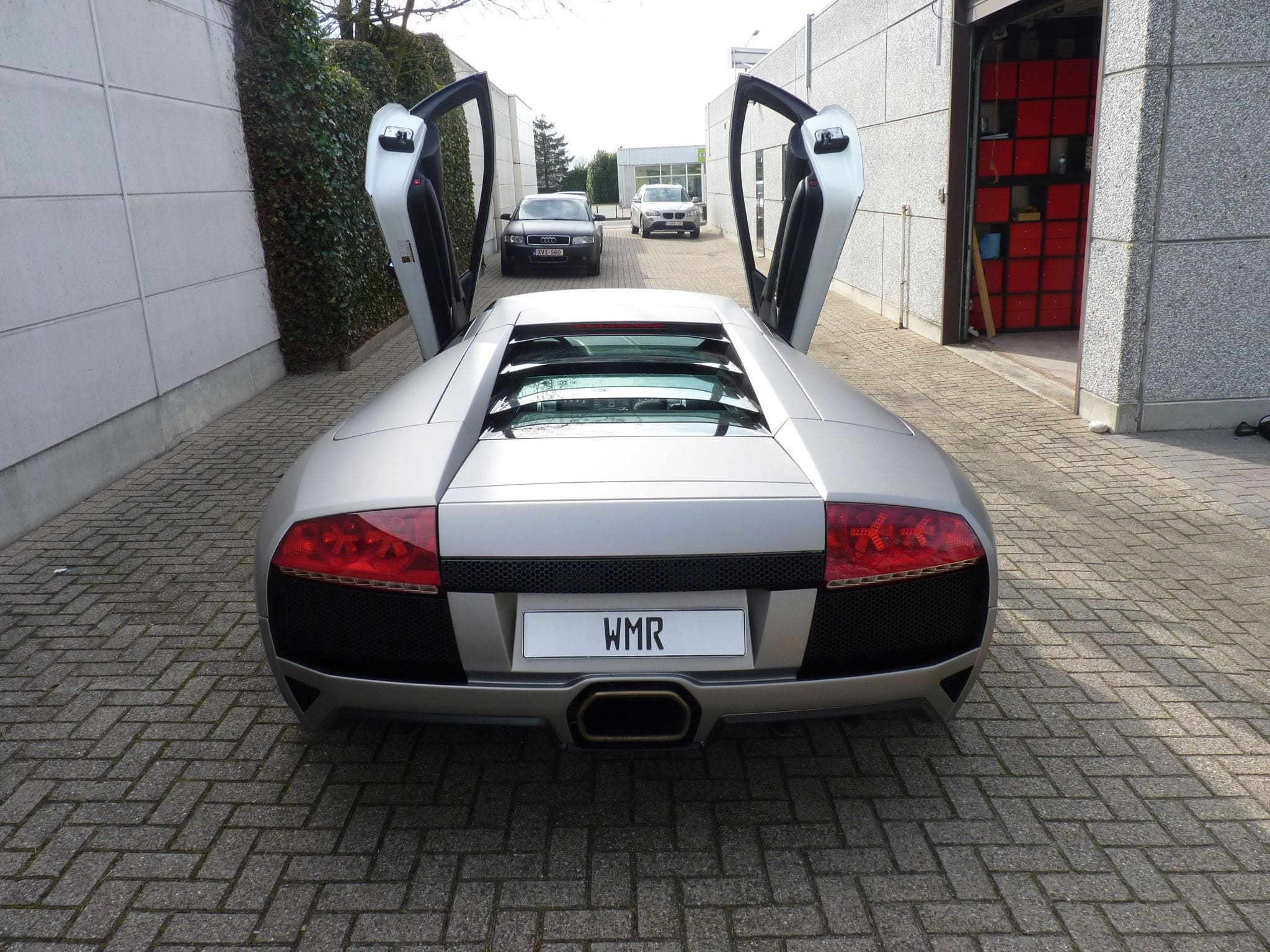 Lamborghini Murcialago LP670 met Gunpowder Wrap, Carwrapping door Wrapmyride.nu Foto-nr:6007, ©2021