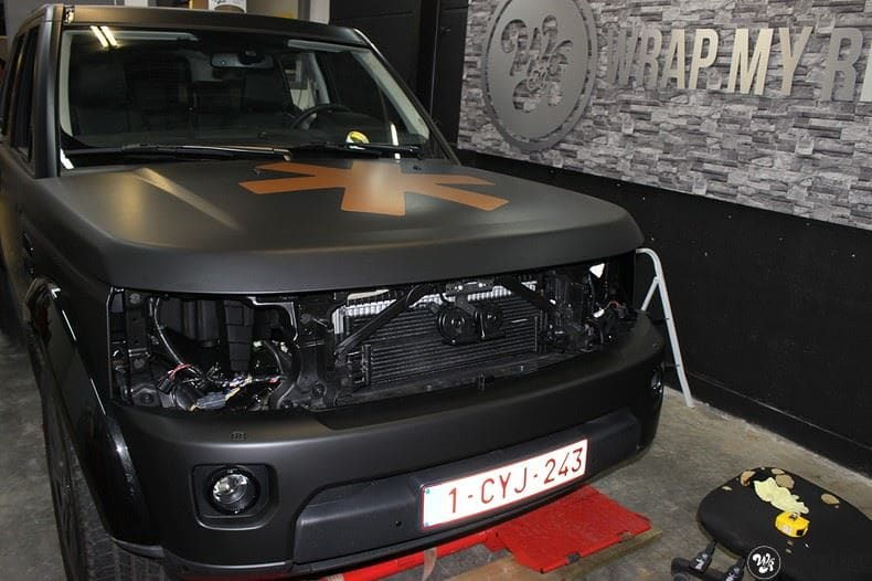 Landrover Discovery Osaka People, Carwrapping door Wrapmyride.nu Foto-nr:8521, ©2018