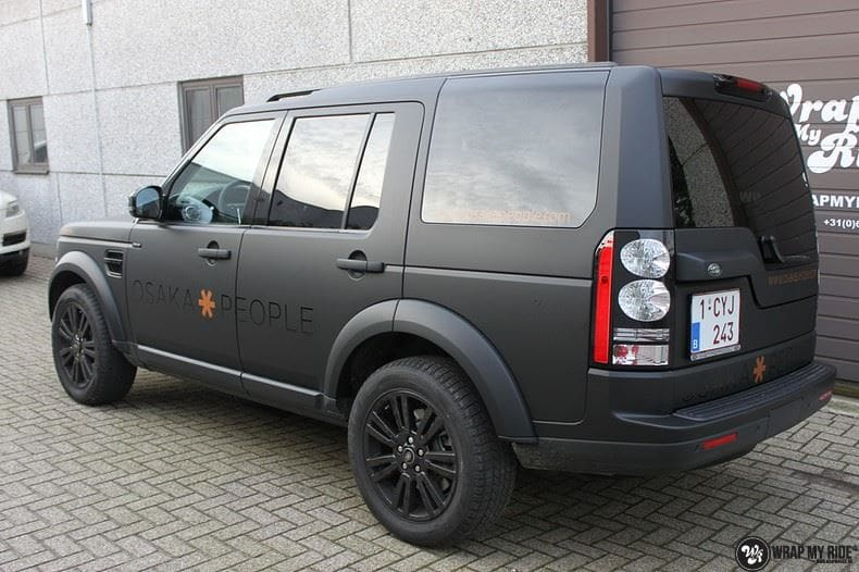 Landrover Discovery Osaka People, Carwrapping door Wrapmyride.nu Foto-nr:8519, ©2020
