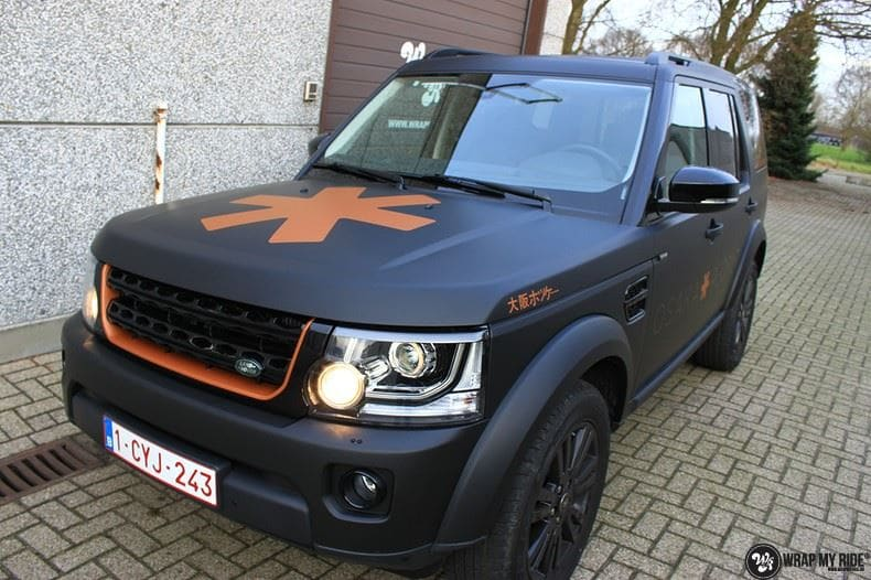 Landrover Discovery Osaka People, Carwrapping door Wrapmyride.nu Foto-nr:8513, ©2018