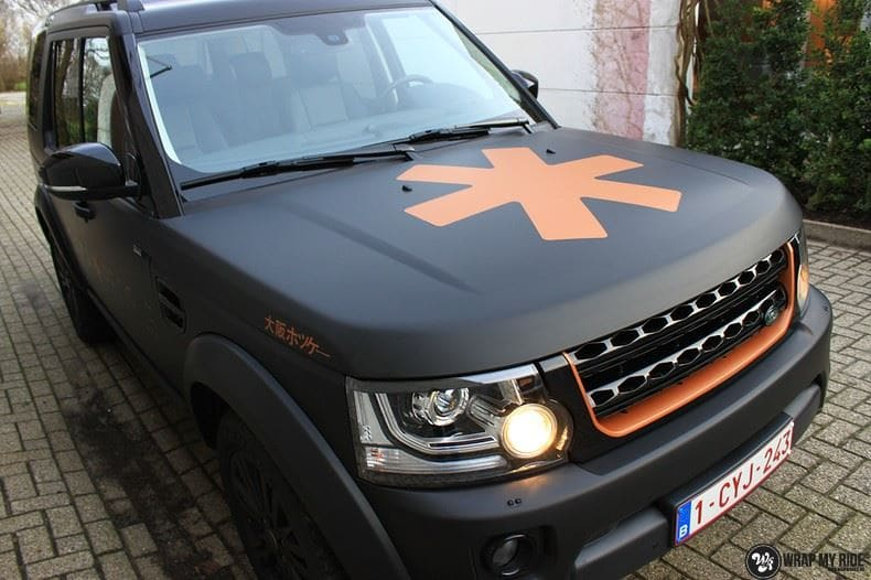 Landrover Discovery Osaka People, Carwrapping door Wrapmyride.nu Foto-nr:8510, ©2018