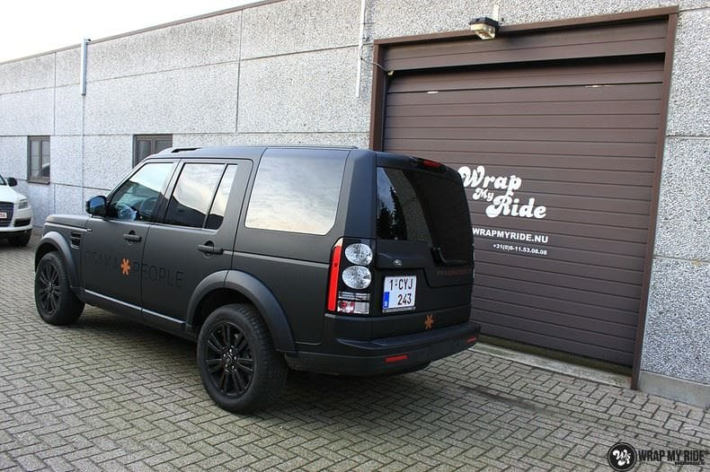 Landrover Discovery Osaka People, Carwrapping door Wrapmyride.nu Foto-nr:8507, ©2018