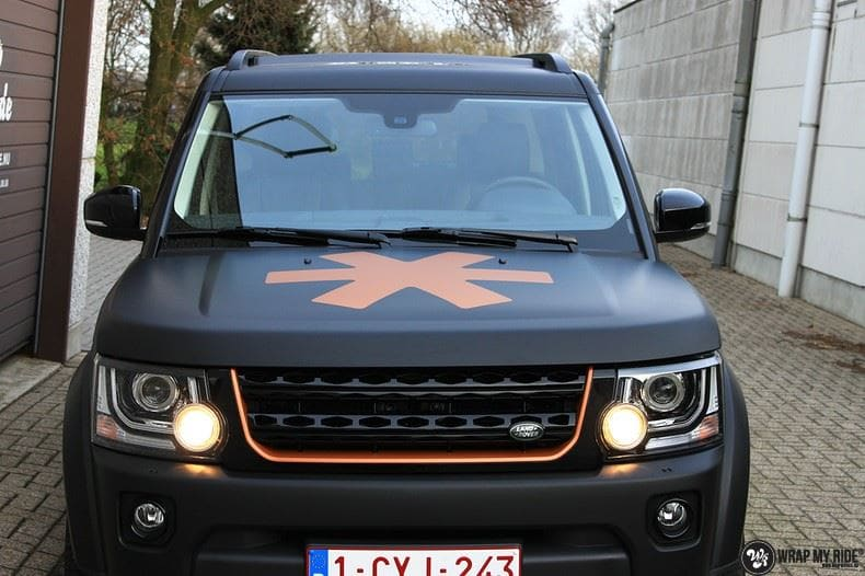 Landrover Discovery Osaka People, Carwrapping door Wrapmyride.nu Foto-nr:8505, ©2018