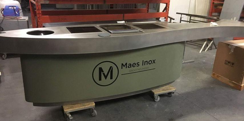Maes inox keuken wrap