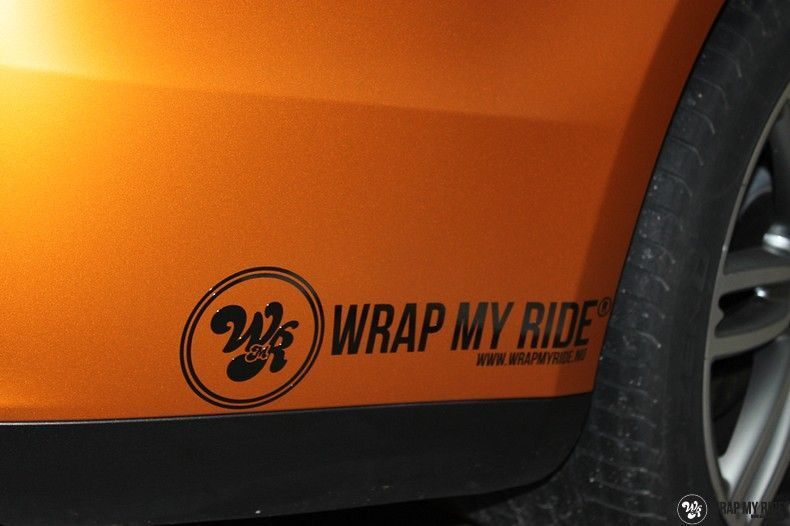 Maserati ghibli satin canyon copper, Carwrapping door Wrapmyride.nu Foto-nr:11577, ©2020