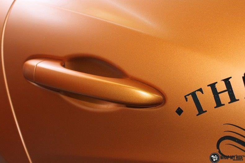 Maserati ghibli satin canyon copper, Carwrapping door Wrapmyride.nu Foto-nr:11585, ©2020