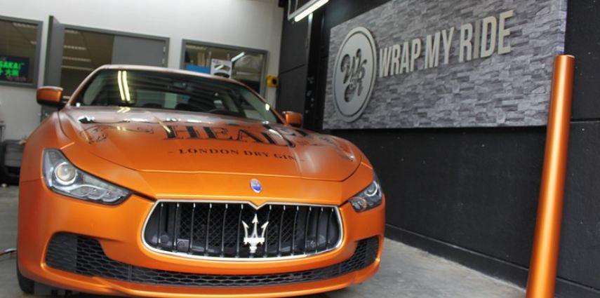 Maserati ghibli satin canyon copper