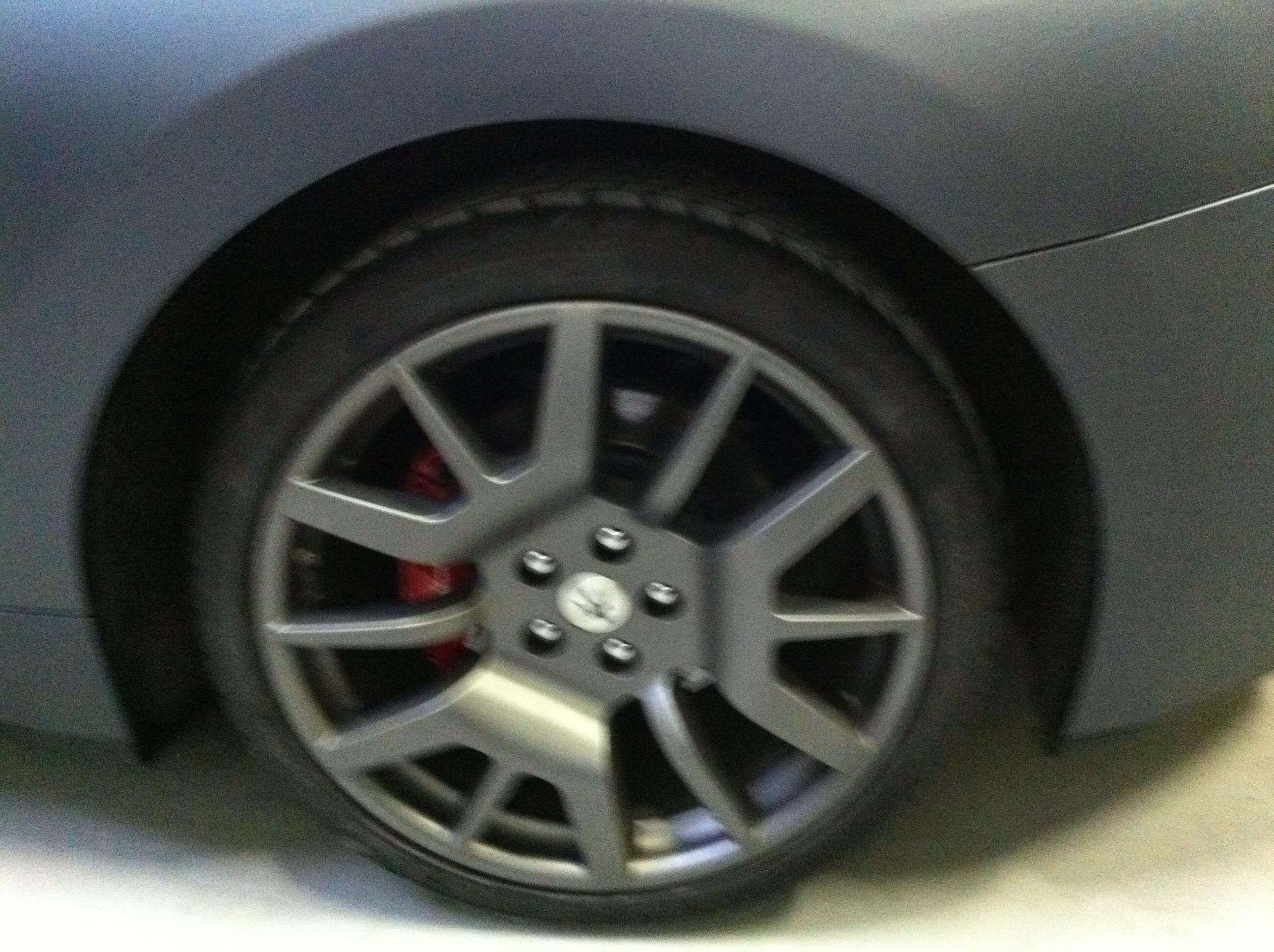 Maserati Gran Turismo met Mat Zwarte Wrap, Carwrapping door Wrapmyride.nu Foto-nr:6036, ©2020